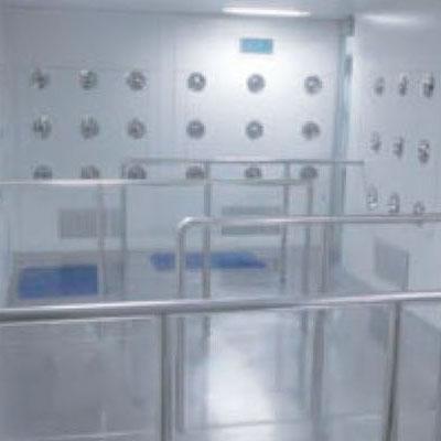 S型隧道式风淋室(含护栏)