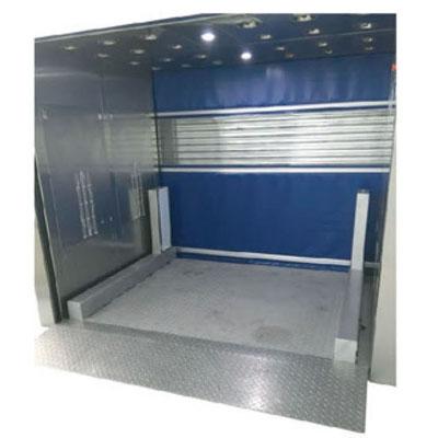 升降平台货淋室