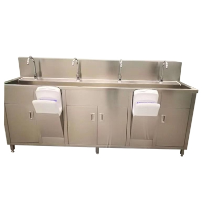 Four-person washstand